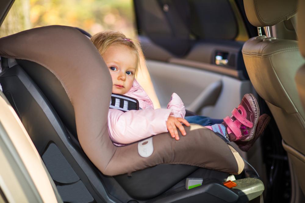 Little-girl-in-carseat